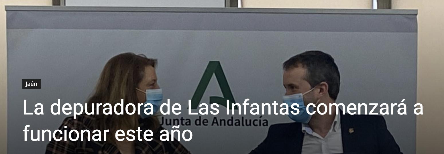 España: La depuradora de Las Infantas comenzará a funcionar este año (Hora Jaén)