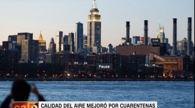 Confinamientos por covid-19 mejoraron la calidad del aire en el 84% de los países, revela informe (CNN)