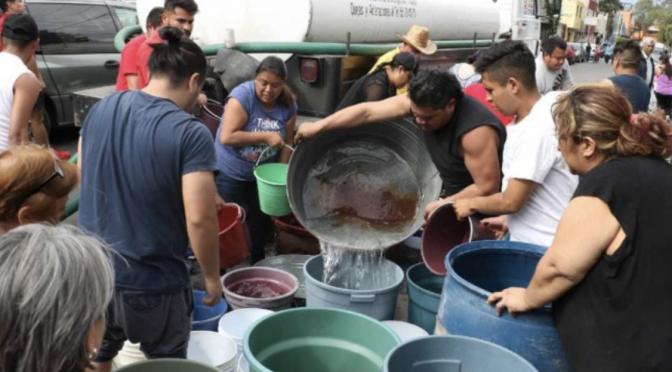 Así se preparan los municipios de Edomex para la escasez de agua por bajo nivel en el Cutzamala (El Heraldo de México)