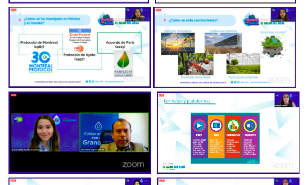 Concluyen eventos virtuales en la semana de conmemoración por el Día Mundial del Agua (boletines.guanajuato.gob.mx)