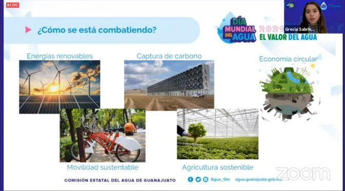 Gto: Concluyen eventos virtuales en la semana de conmemoración por el Día Mundial del Agua (Gobierno de Guanajuato)