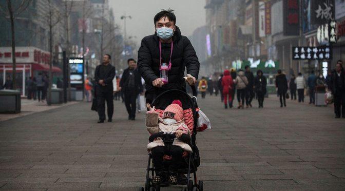 Niños que respiran aire contaminado, en riesgo de enfermar del corazón: estudio (Milenio)