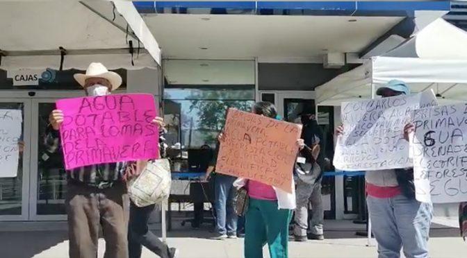 Guadalajara: Se manifestan ante el Siapa por falta de agua (NTR Guadalajara)