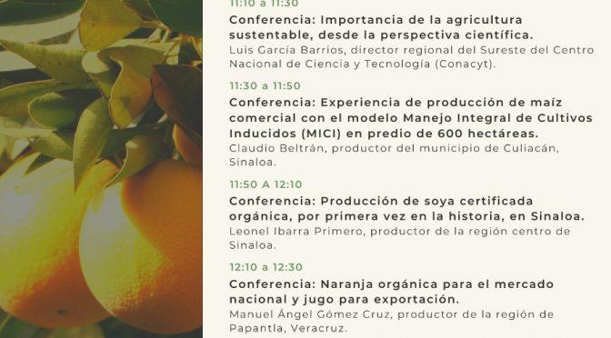 "Conferencia (Virtual) No. 22 Ciclo ""Autosuficiencia Alimentaria  e Innovación Tecnológica""- Secretaría de Agricultura"