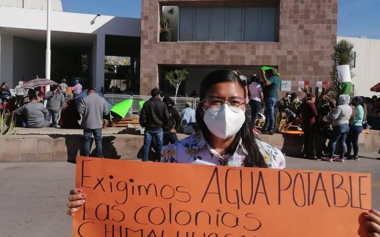Piden agua en colonias marginadas de SLP (El Sol de San Luis Potosi)