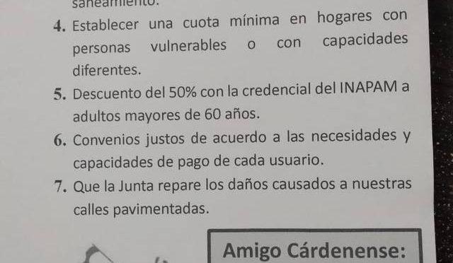 Chihuahua: Junta Rural de Agua en Cárdenas, caja chica de panistas: Ciudadanos (El Heraldo de Chihuahua)