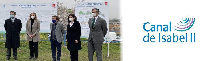 Canal Isabel II garantizará el abastecimiento de agua durante la creación de Madrid Nuevo Norte  (Aguas Residuales)