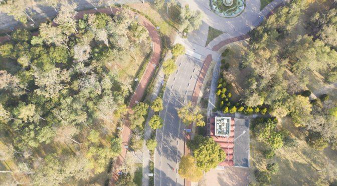 CDMX: Inauguran ciclovía inteligente en Chapultepec: recolecta agua (Chilango)