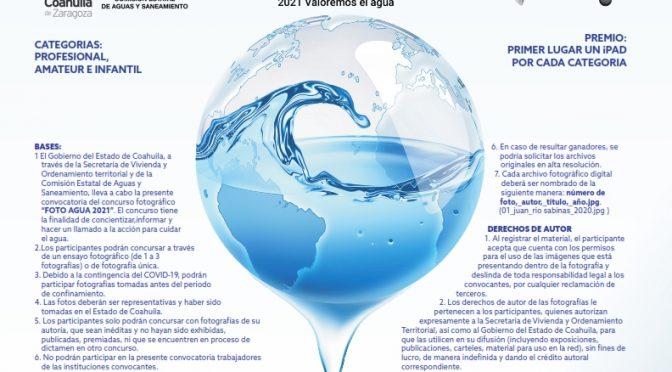 Coah: Convoca Coahuila al concurso estatal de fotografía del agua 2021 (El Heraldo de Saltillo)