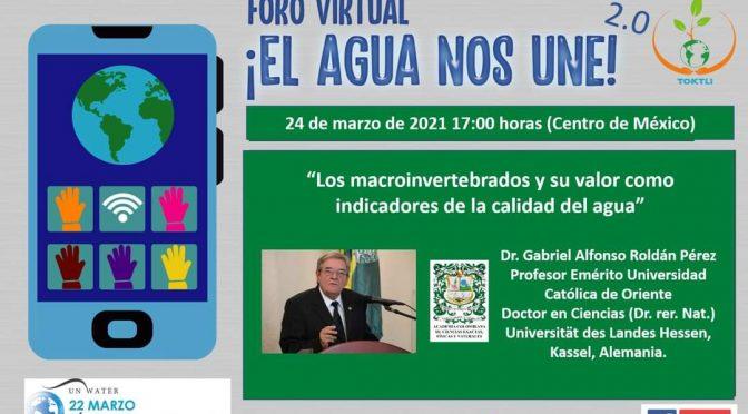 Foro Virtual ¡El Agua nos une!