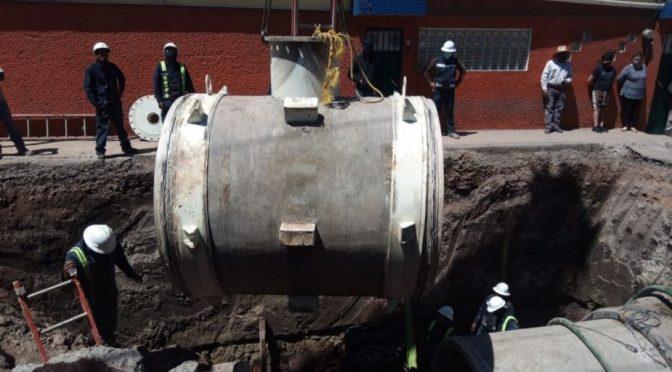 EDOMEX: Conagua repara fuga en Tultepec que dejó sin agua a 600 mil personas en Edomex y CDMX (El Heraldo de México)