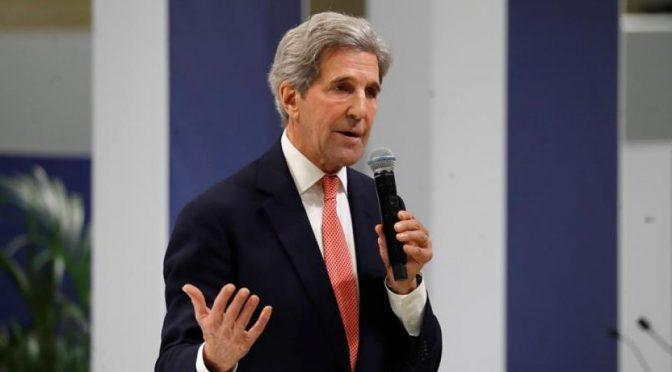 Johnson se reúne con Kerry para tratar del cambio climático y la COP26 (Portal Ambiental)