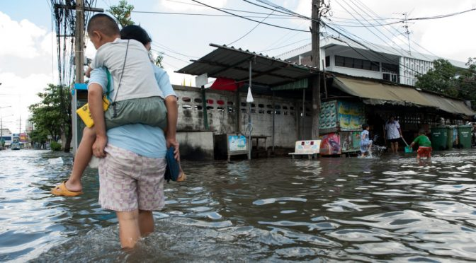 Las migraciones debido a inundaciones crecerán un 50% (El Ágora Diario)
