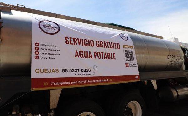 EDOMEX: Distribuye Tlalnepantla más de 3 millones de litros de agua a través de pipas (asisucede.com.mx)