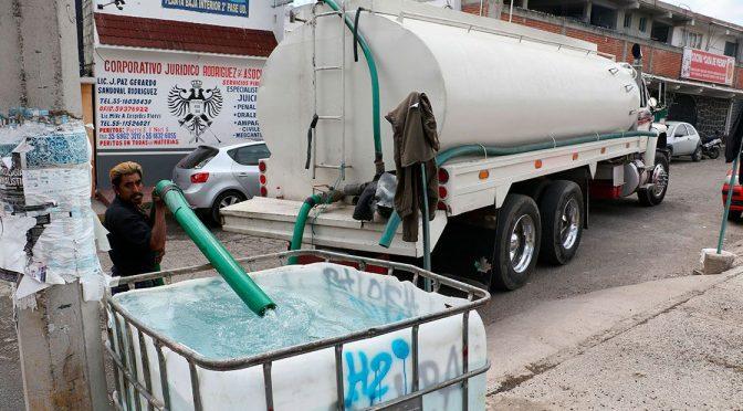Gobierno de CDMX alista plan de distribución de pipas ante escasez de agua (El Economista)