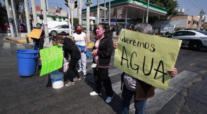 México: Padecerán 12 alcaldías falta de agua por baja en el caudal del Cutzamala (Jornada)