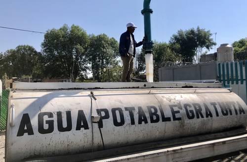 CDMX: Llama Sheinbaum a denunciar uso clientelar de distribución de agua (La Jornada)