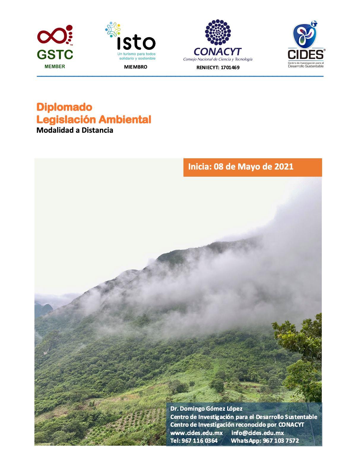 CIDES- Diplomado en Legislación Ambiental