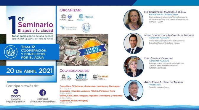 UNESCO México- 1er Seminario El Agua y tu Ciudad