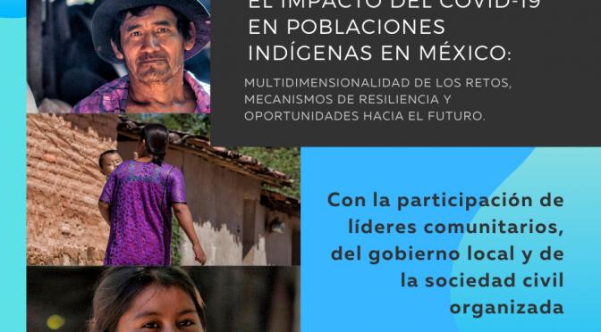 """UNFPA México Webinar-""""El impacto del COVID-19 en poblaciones indígenas de México"""""""