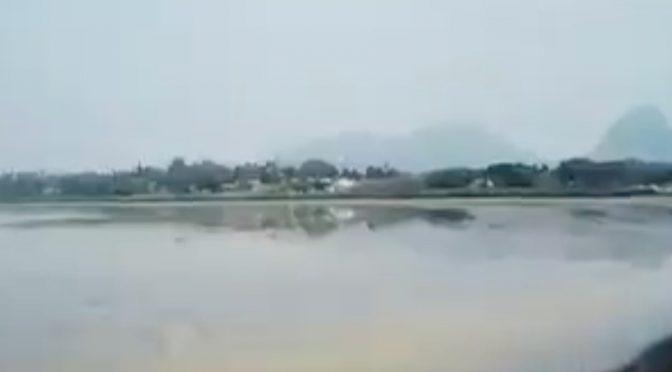 Veracruz: Laguna del Farallón y sus 15 centímetros de profundidad (Excelsior)