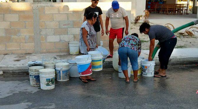 México: Disminuyen abasto de agua, poca permeabilidad del concreto y consumo excesivo del líquido (DGS UNAM)