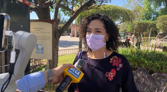 Durango: Debemos garantizar abasto de agua: Gaby Hernández (La Voz de Durango)