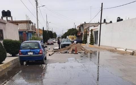 Hidalgo: Averías causan fuerte desabasto de agua (El Sol de Hidalgo)