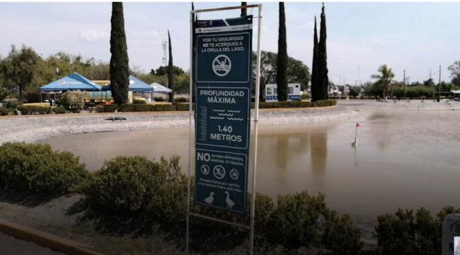 Celaya: Sorprende a usuarios sequía en Xochipilli (Periódico Correo)