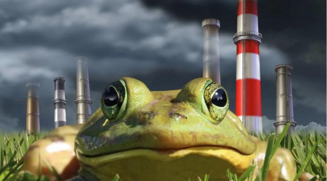 """""""Efecto de la rana hervida"""", ¿por qué perdemos interés por el cambio climático? (El Universal)"""