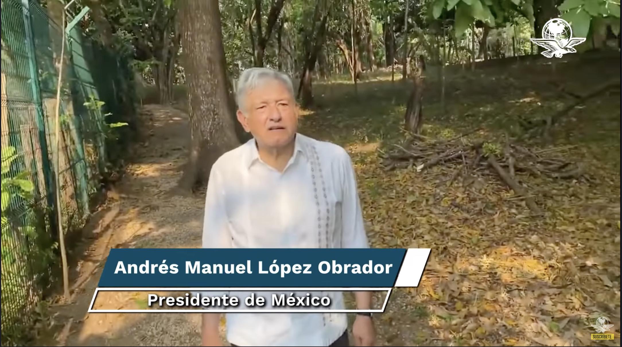 MX- México pondrá límite a producción petrolera para mitigar cambio climático: AMLO (El Universal)