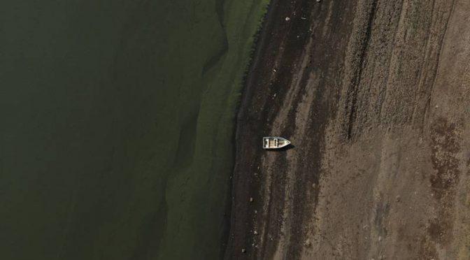México se queda sin agua… y está en riesgo de desaparecer el segundo lago más grande del país (El Financiero)