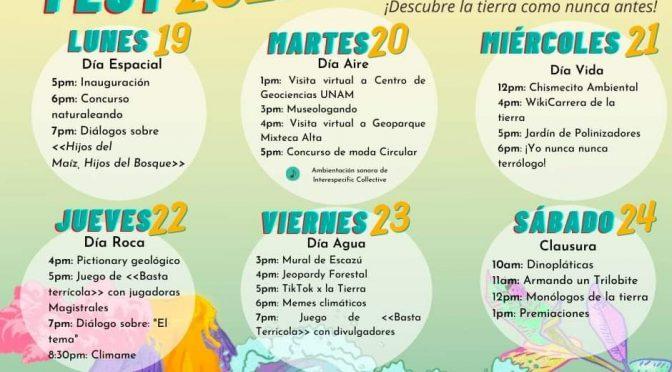 Estudios Planeteando- Festival virtual TierraFest 2021: Día Roca