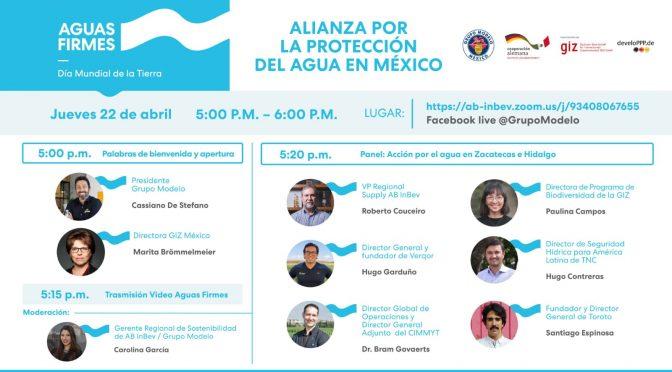"Grupo Modelo- Panel virtual ""Alianza por la protección del agua en México"""