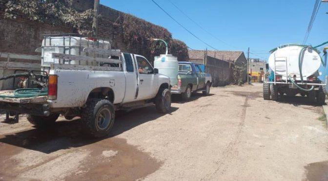 Vecinos de Escuinapa exigen suministro de agua potable tras cinco días secos (Noroeste)