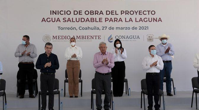 Organismos cuestionan proyecto de Agua Saludable para La Laguna (Milenio)
