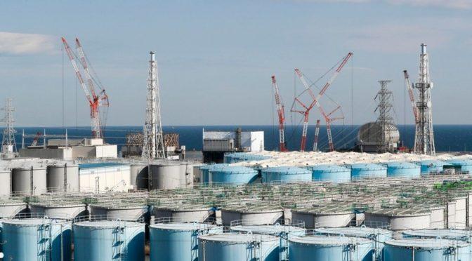 Japón verterá al mar agua tratada de central nuclear de Fukushima (El Universal)