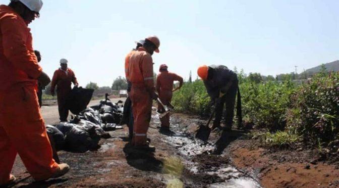 Tula: Persiste derrame de combustible en ríos y presas de Tula y el Mezquital (La Silla Rota)