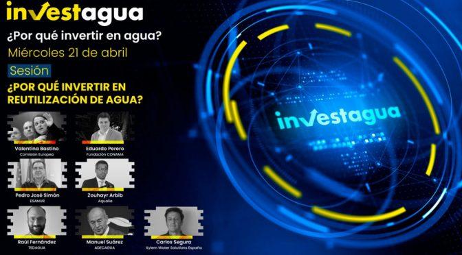 """España: Los expertos en INVESTAGUA: """"Hay tecnología para la circularidad del agua, pero falta inversión"""" (iagua.es)"""