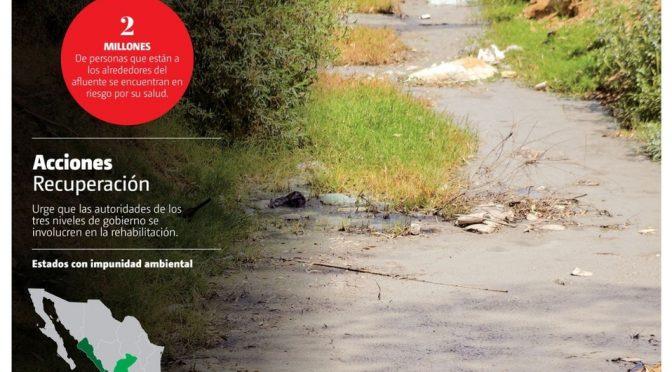 Puebla: Urgen acciones para rescatar el río Atoyac (Milenio)