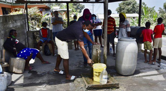 Erupción en San Vicente envenena agua (am de Querétaro)