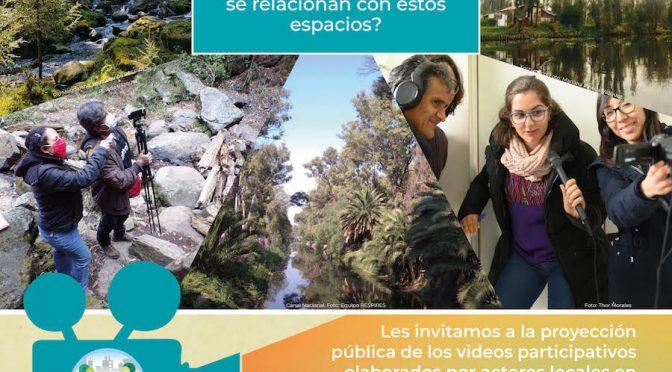 ECOSUR- Proyección de videos participativos: Miradas del agua
