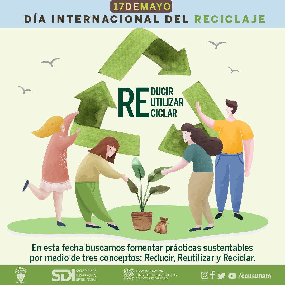 ♻️17 de mayo | Día Internacional del Reciclaje- Infografía 1