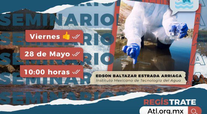Instituto Mexicano de Tecnología del Agua- Seminario: Soluciones sostenibles: tratamiento de agua residual con sistemas bioelectroquímicos 💧