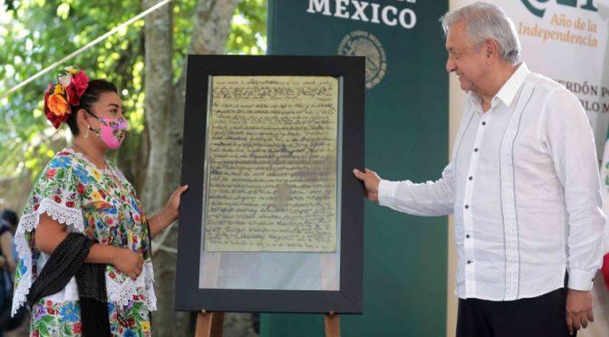MX: López Obrador pide perdón a los mayas por los abusos contra ellos a lo largo de la historia (El País)
