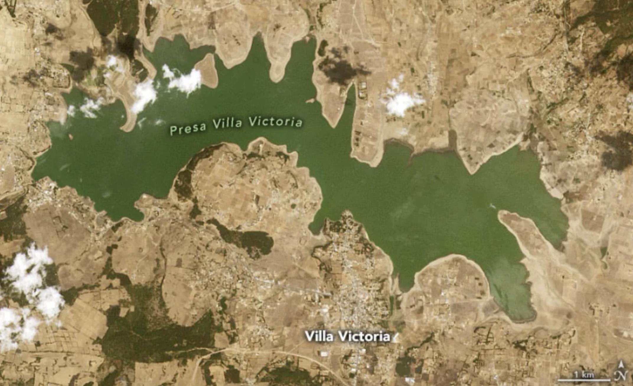 MX- ¿Por qué es alarmante la sequía que la NASA reporta en México? (El Universal)