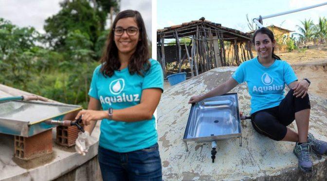 Joven Fabrica Un Filtro De Agua Que Usa Luz Solar Para Potabilizarla (El Tierrero)