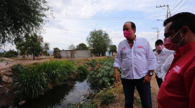 Querétaro- Habrá sanciones para quienes contaminen ríos y bordos del estado: Juan Carlos Martínez (Códice Informativo)