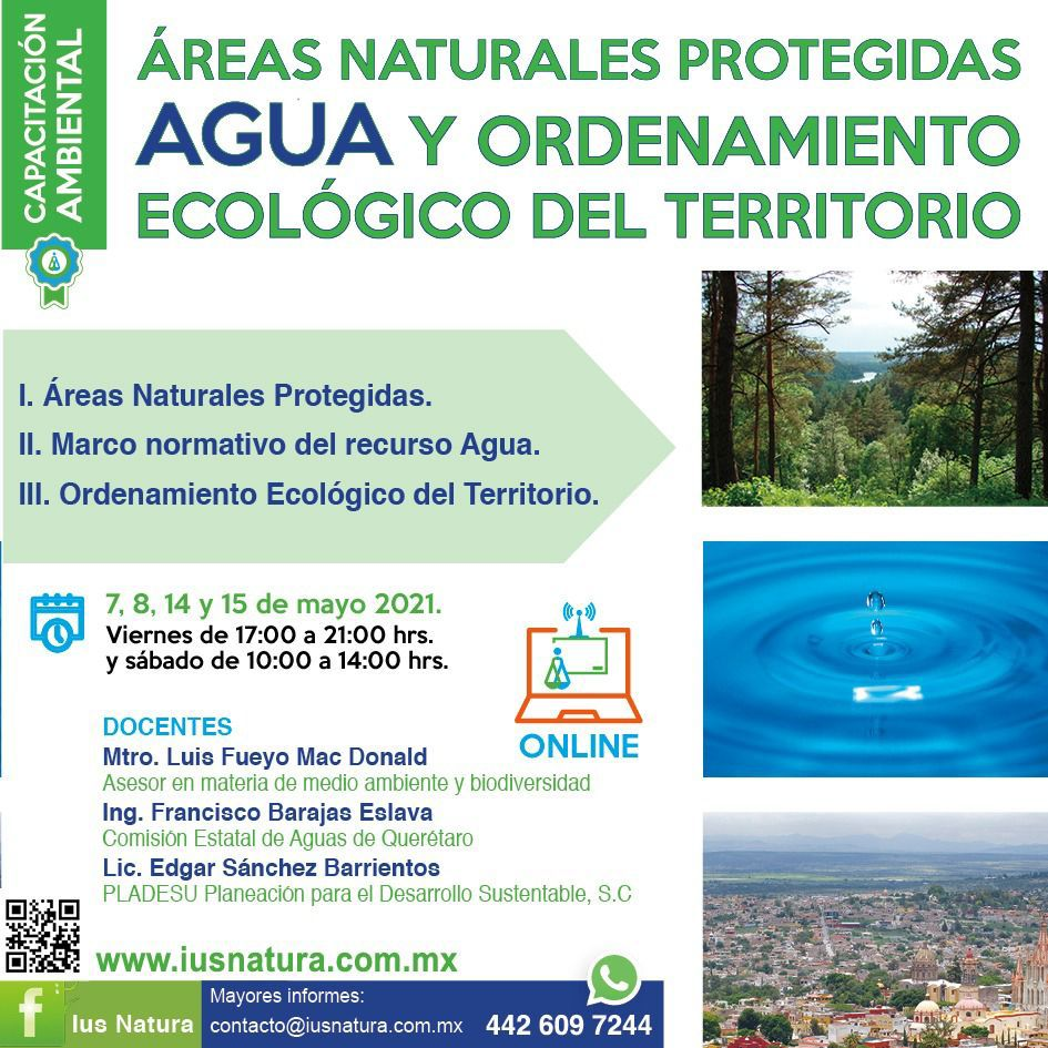 IUS Natura- Capacitación Ambiental