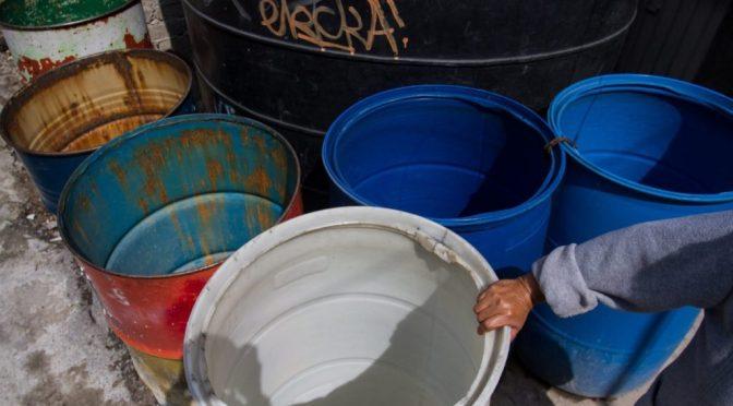 Saquen las cubetas: cortarán agua el 11 y 12 de junio en CDMX (Chilango)